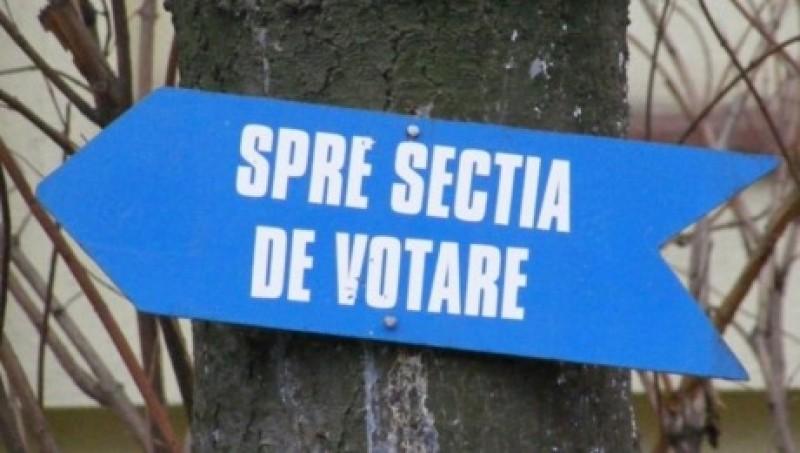 Votant pus pe scandal, amendat de polițiști