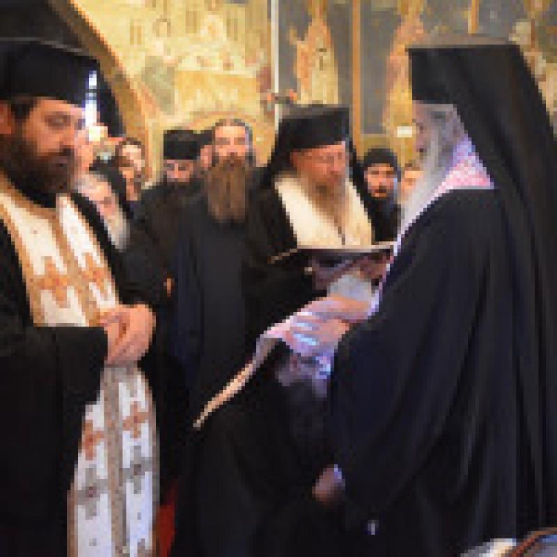 VREDNIC ESTE! Părintele protosinghel Hariton Negrea, noul stareț al Mănăstirii Petru Vodă VIDEO