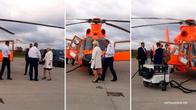Vrei să știi de unde a avut PSD bani pentru elicopterul premierului Dăncilă?