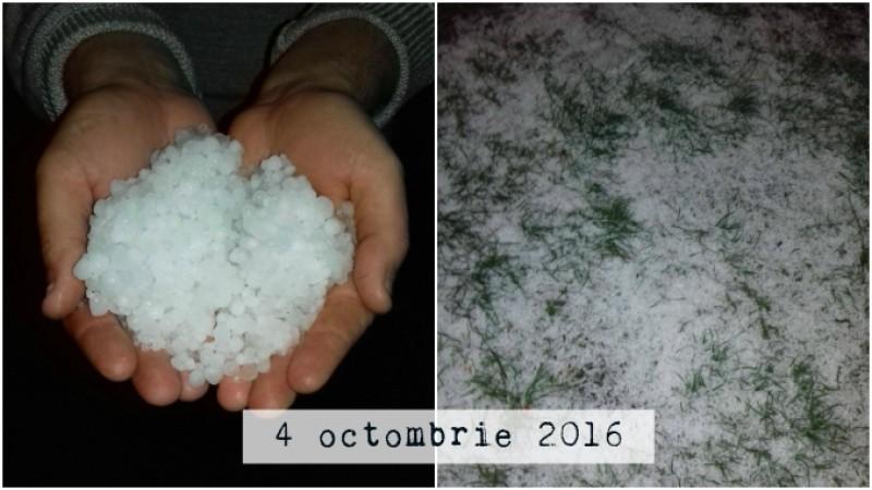 Vremea s-a răcit brusc în toată țara. La Botoșani a căzut deja prima măzăriche!