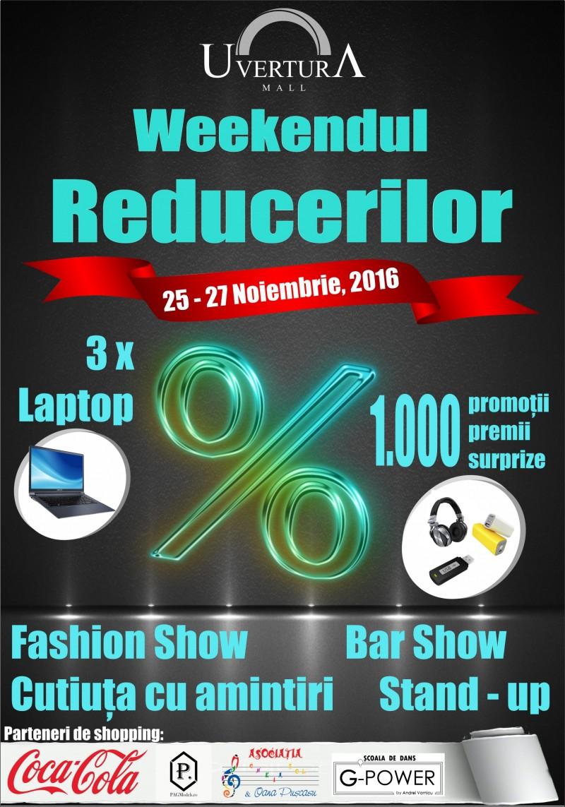 Weekendul Reducerilor la Uvertura Mall!