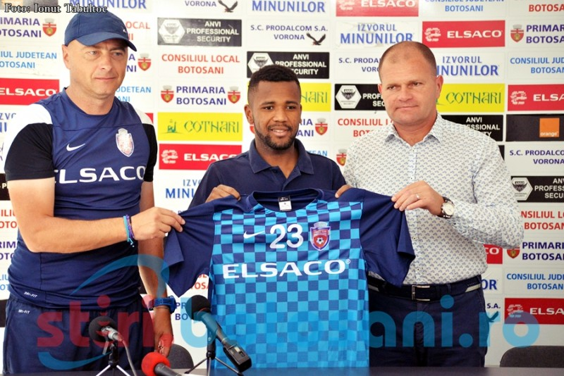 "WILLIE BARBOSA, prezentat oficial de FC Botoșani: ""Sper să pot da maximum""- FOTO de la antrenanement"