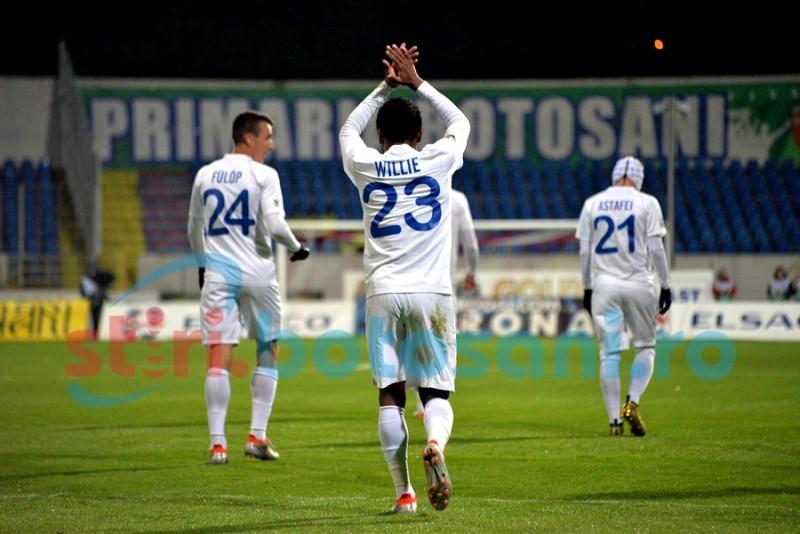 Willie marchează primele goluri și o urcă pe FC Botoșani pe locul 4 în clasament! FOTO