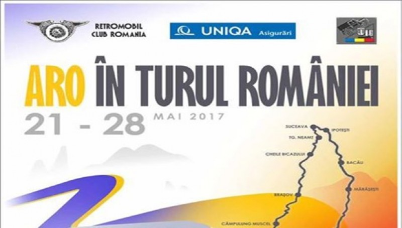 """Zece autovehicule ARO ajung la Ipoteşti, în """"Aro în turul României"""""""