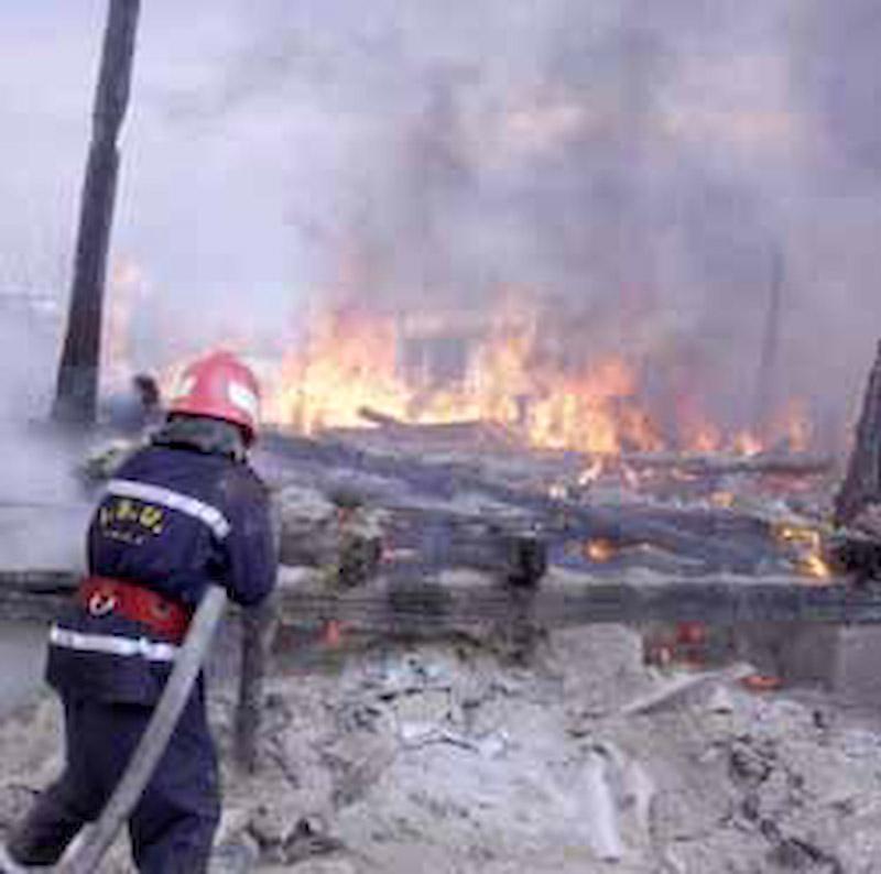 Zeci de case facute scrum din cauza cosurilor de fum