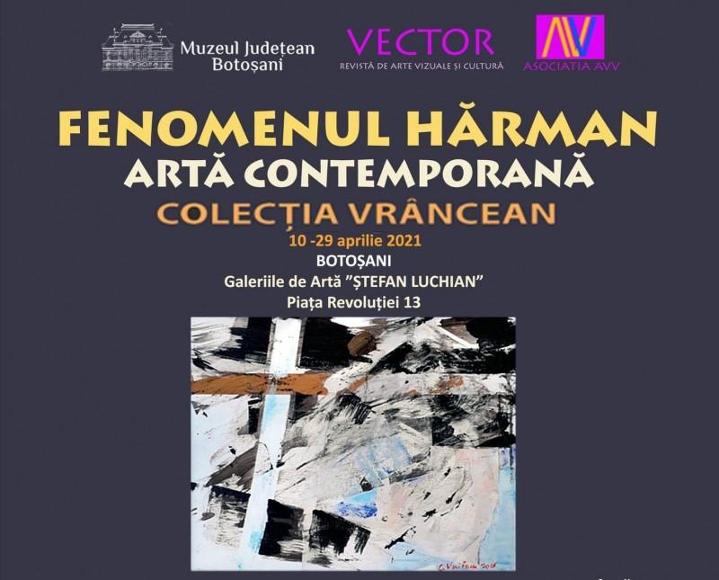 """Zeci de lucrări de pictură abstractă contemporană ale colecționarului Nicolae – Ioan Vrâncean vor fi expuse la Galeriile de Artă """"Ștefan Luchian"""""""