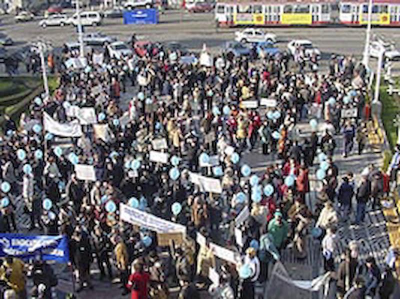 Zeci de profesori pleaca la Bucuresti, pentru a se alatura protestatarilor din toata tara
