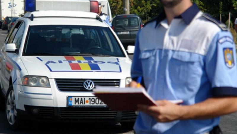 Zeci de sancțiuni date de polițiști după o simplă acțiune în municipiul Botoșani