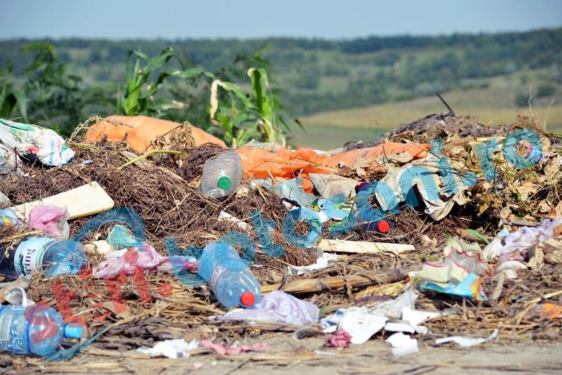 Zeci de tone de gunoi zac pe marginea santurilor in comuna Roma! Primarul nu stia, iar Garda de Mediu ameninta cu amenzi! GALERIE FOTO