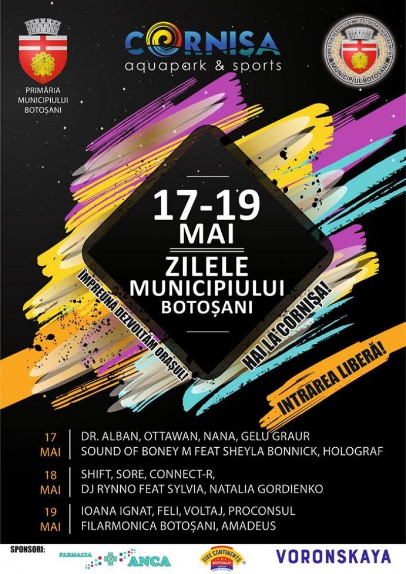 Zilele Municipiului Botoșani la Cornișa: Consilierii locali, chemați să aprobe alocarea a 200.000 de lei din bugetul orașului