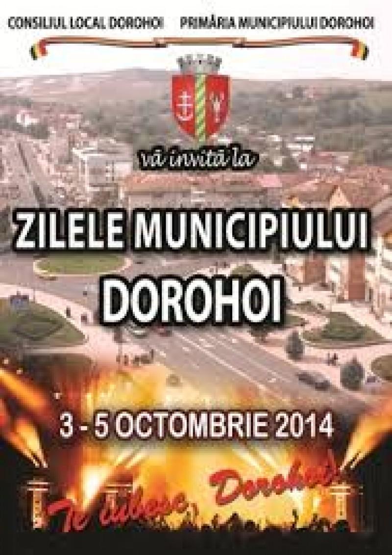 Zilele Municipiului Dorohoi, cu Tavi Colen şi Voltaj!