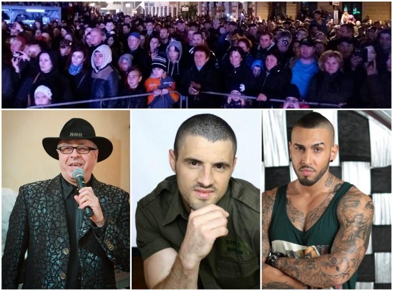 Zilele Oraşului - ultima seară de petrecere în Centrul Vechi. Suruceanu, Stratan şi Velea vin la Botoşani!