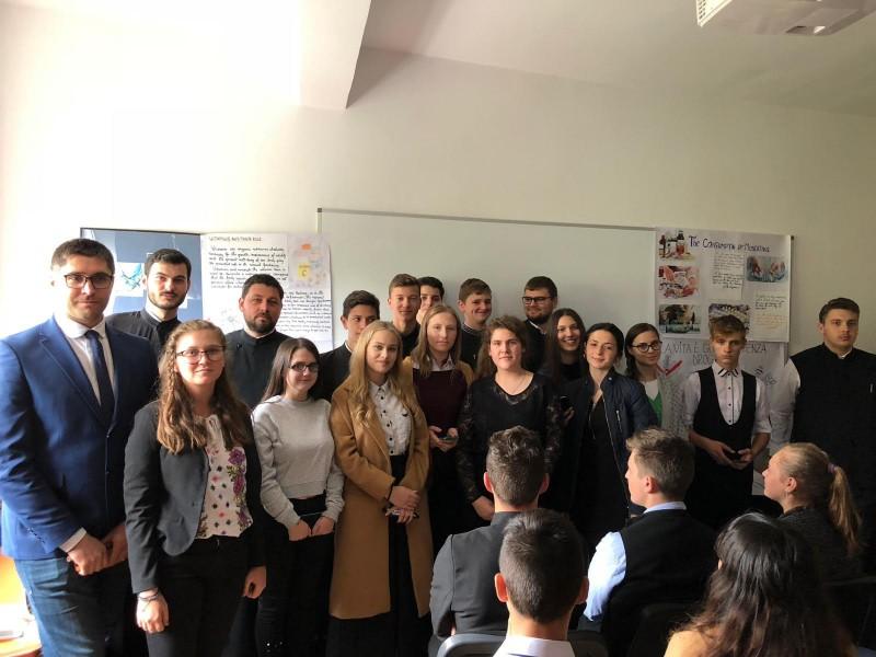 """Ziua europeană a limbilor, marcată și în acest an la Seminarul Teologic """"Sfântul Gheorghe"""" Botoșani - FOTO"""