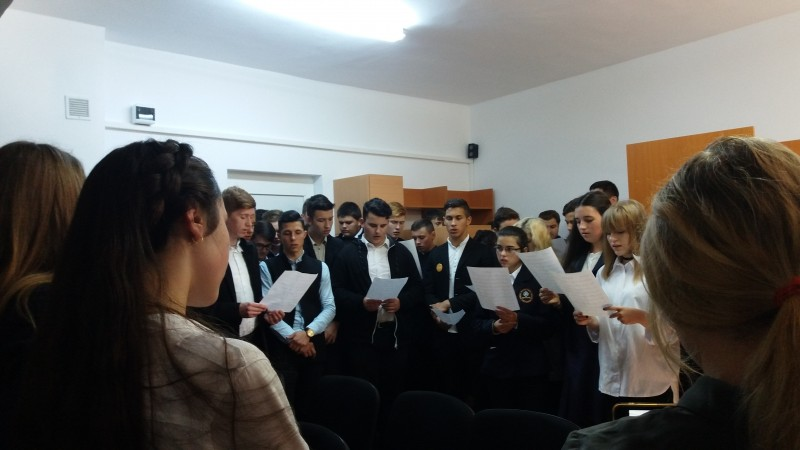 """Ziua Europeană a Limbilor, sărbătorită la Seminarul Teologic Liceal Ortodox """"Sfântul Gheorghe"""" Botoșani! FOTO"""