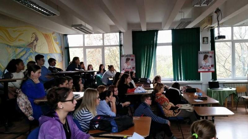 Ziua Europeană împotriva Traficului de Persoane, marcată şi la Botoşani