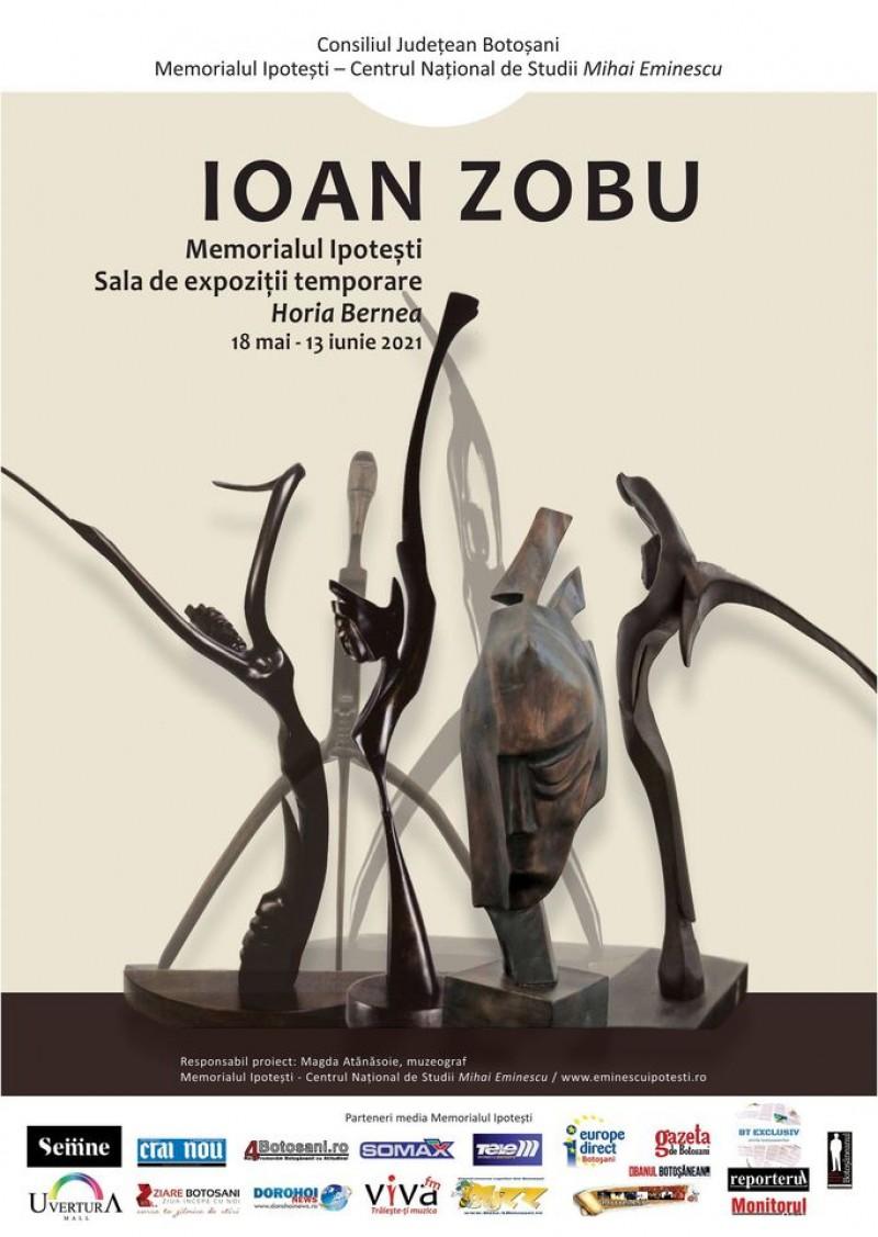 Ziua Internațională a Muzeelor, marcată la Memorialul Ipotești: Ioan Zobu – expoziție de sculptură
