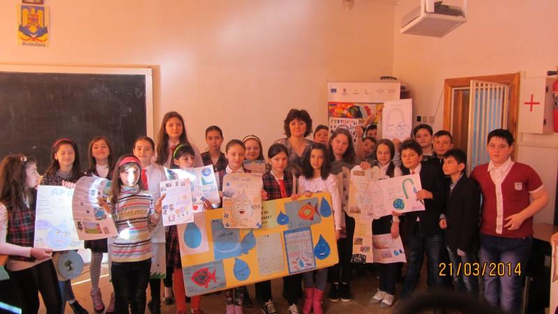 Ziua Mondială a Apei, sărbătorită de elevii Şcolii Gimnaziale Nr.10 Botoşani! FOTO