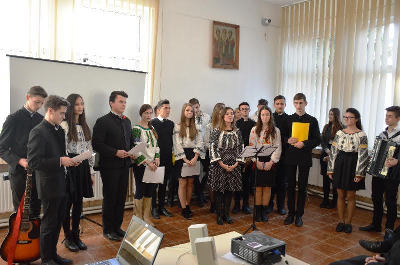 Ziua Națională, la Seminarul Teologic Botoșani! FOTO