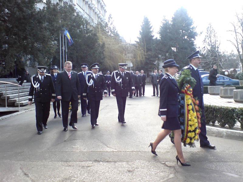 Ziua Politiei Romane la Botosani - invitati, discursuri, premii, avansari in grad!