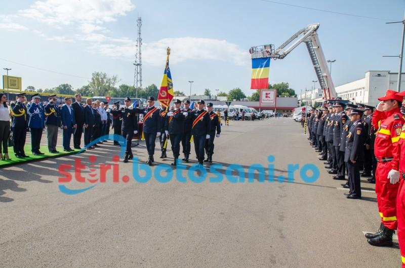Ziua Pompierilor din România, sărbătorită și la Botoșani FOTO-VIDEO