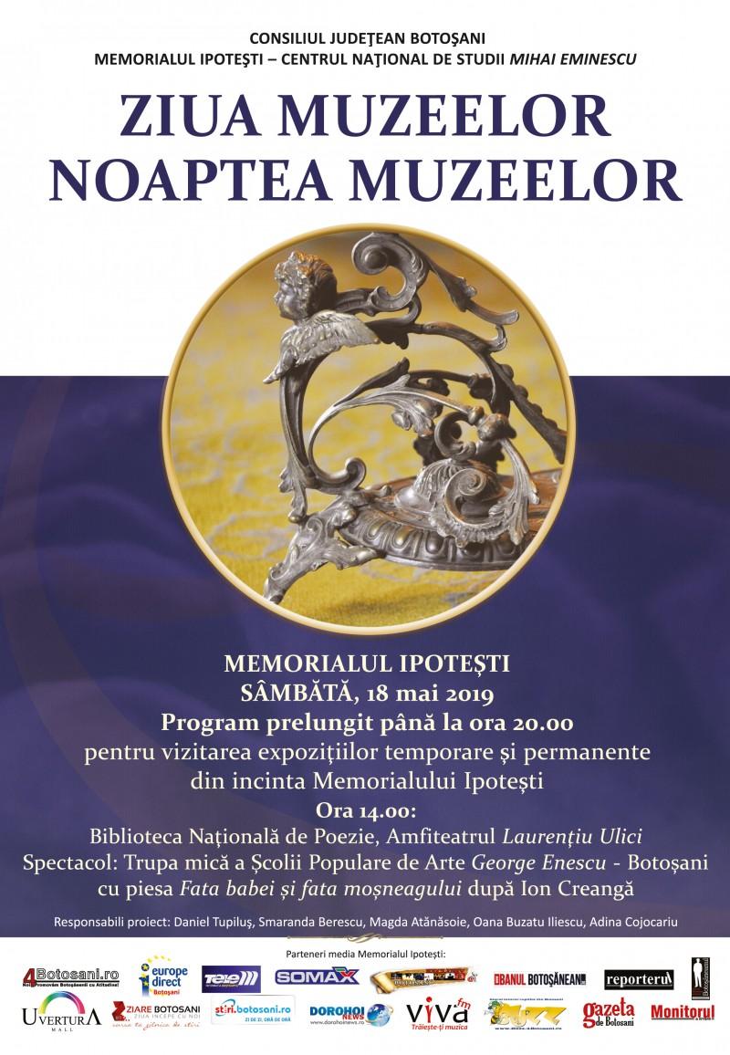 Ziua și Noaptea Muzeelor la Memorialul Ipotești