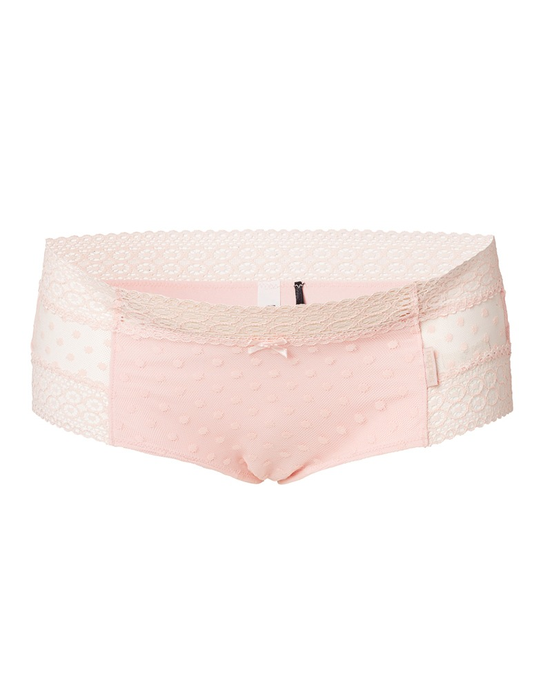 Chilot roz cu dantela pentru gravide Noppies