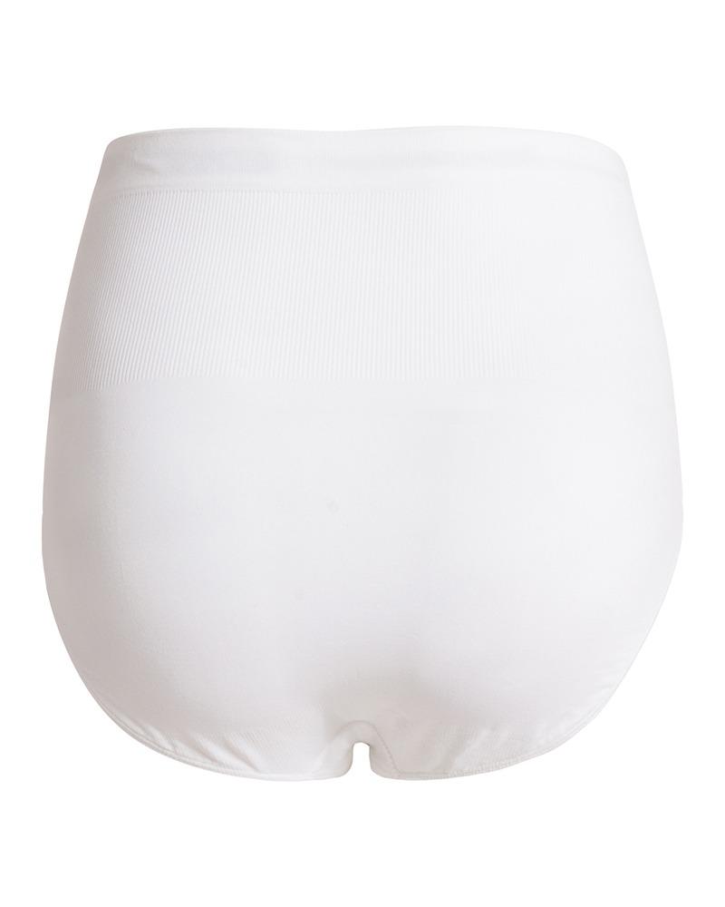 Chiloti alb cu talie inalta pentru gravide Noppies
