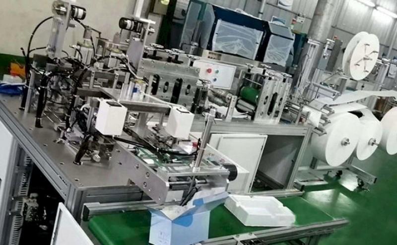 Mașină de fabricat mască KN95 complet automată / semi-automată