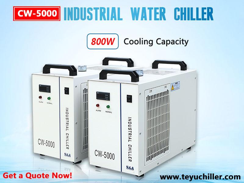 Răcitor de apă CW5000 pentru freze cu laser fără metale